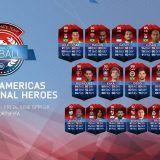Llegan a FUT los Héroes Clásicos Internacionales de América