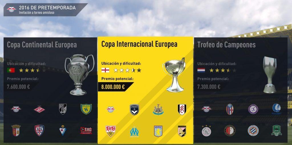 RB Lepzig Carrera FIFA 17