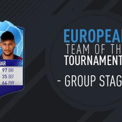 Ya disponible el European Team of the Tournaments