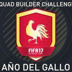 Squad Builder Challenge: Año del Gallo