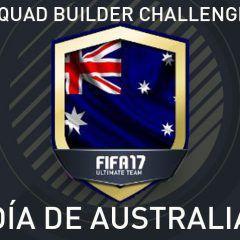 Squad Builder Challenge: Día de Australia