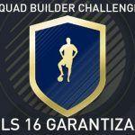 Squad Builder Challenge: EDLS 16 Garantizado
