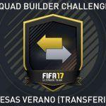 Squad Builder Challenge: Promesas verano (transferible)