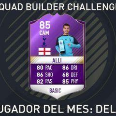 Squad Builder Challenge. PL Jugador del Mes : Dele Alli