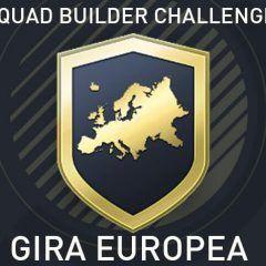 Squad Builder Challenge: Gira europea