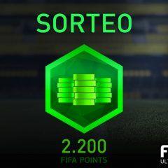 Sorteo de 2.200 FIFA Points para FUT 17