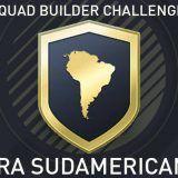 Squad Builder Challenge: Gira sudamericana