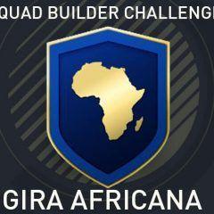 Squad Builder Challenge: Gira africana