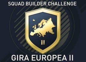 Squad Builder Challenge: Gira europea II