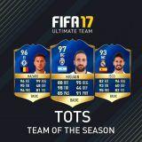 Información sobre los TOTS de FIFA 17 Ultimate Team