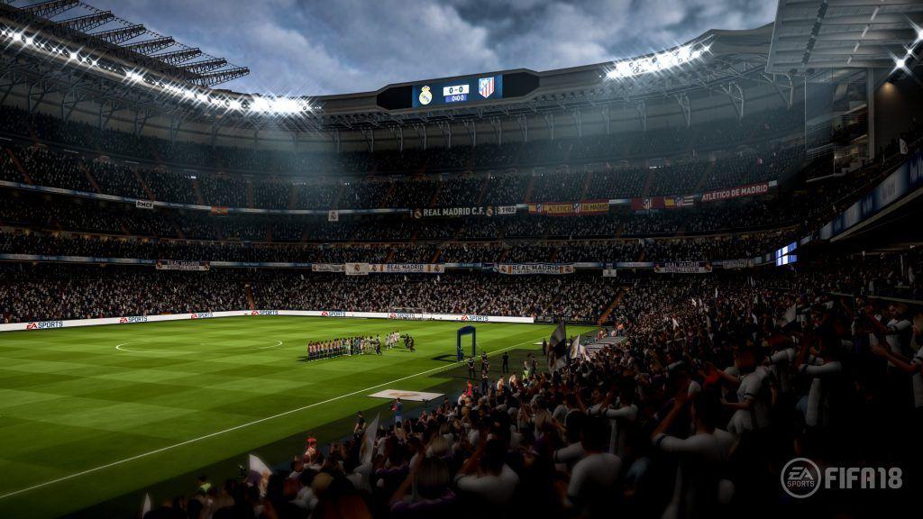 Santiago Bernabeu FIFA 18, Real Madrid FIFA 18