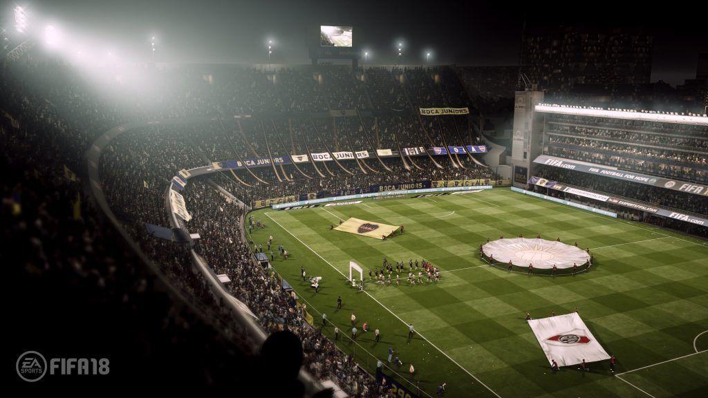 Estadios FIFA 18, La Bombonera FIFA 18