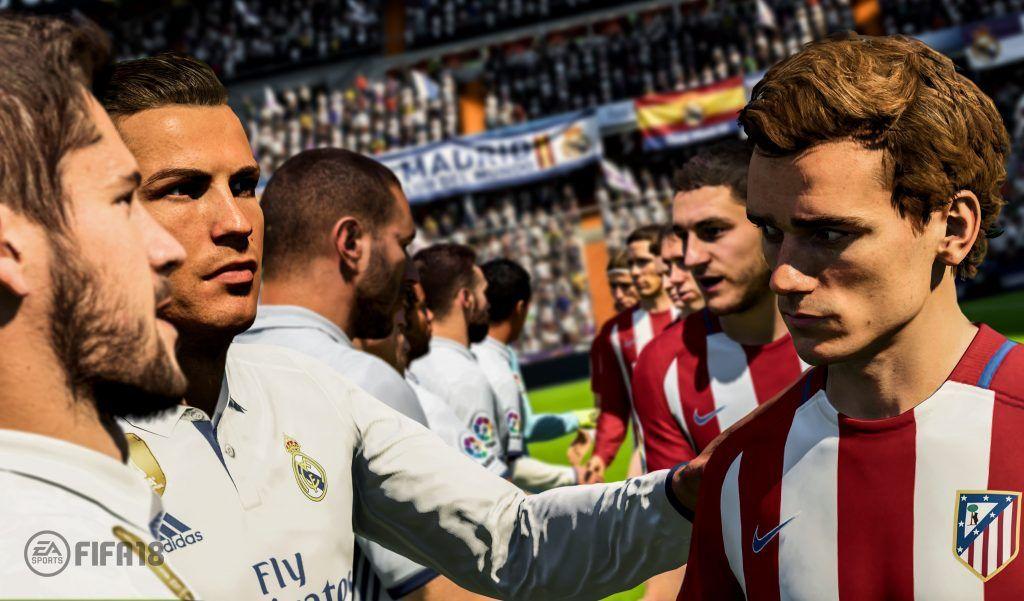 Gameplay FIFA 18, jugabilidad FIFA 18