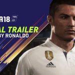 Cristiano Ronaldo será el jugador de portada de FIFA 18