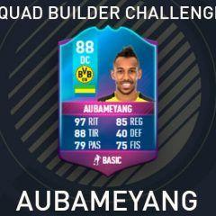Squad Builder Challenge: Aubameyang Especial