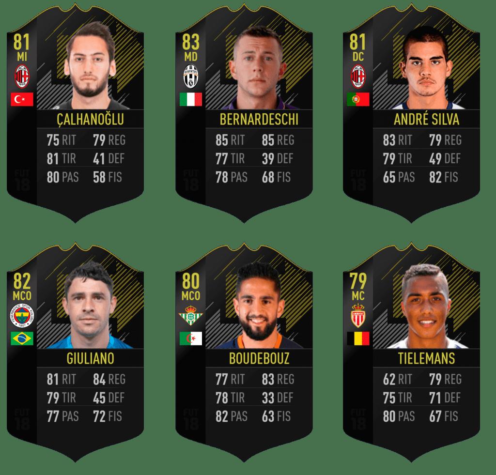 Predicción de los Ones to Watch de FIFA 18