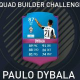Squad Builder Challenge: Paulo Dybala Especial