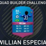 Squad Builder Challenge: Willian Especial