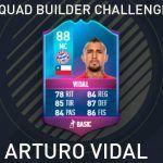 Squad Builder Challenge: Arturo Vidal Especial