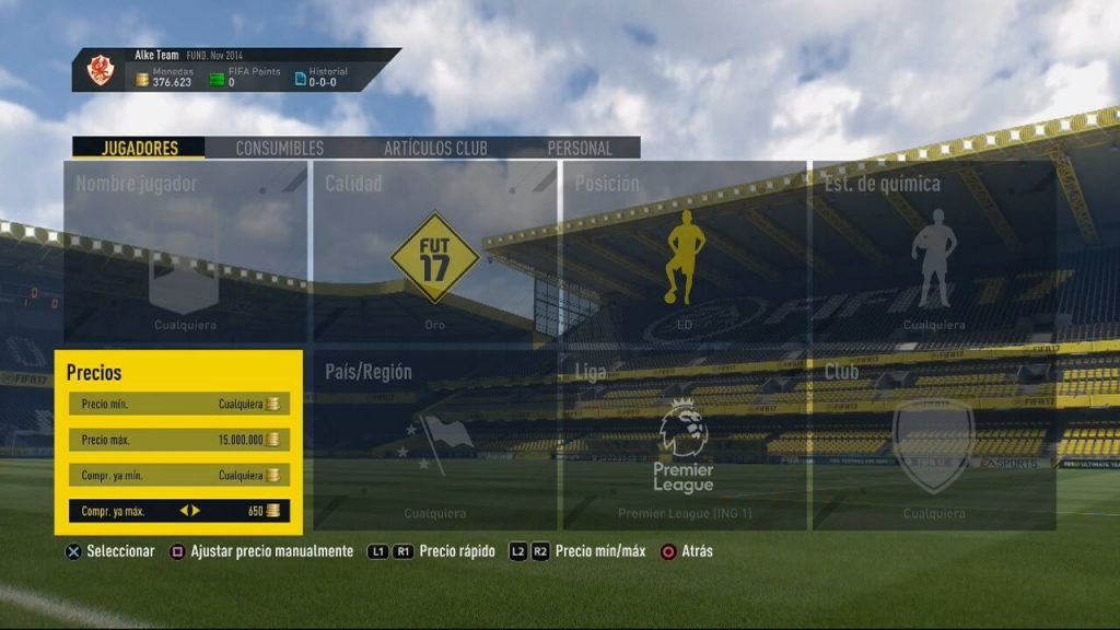 Tradeo sniping FIFA Ultimate Team