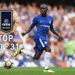 Los jugadores con más media de FIFA 18 (40 – 31)