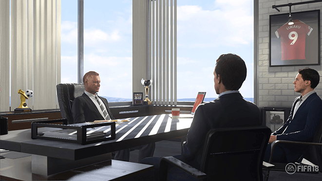 Novedades del modo Carrera de FIFA 18