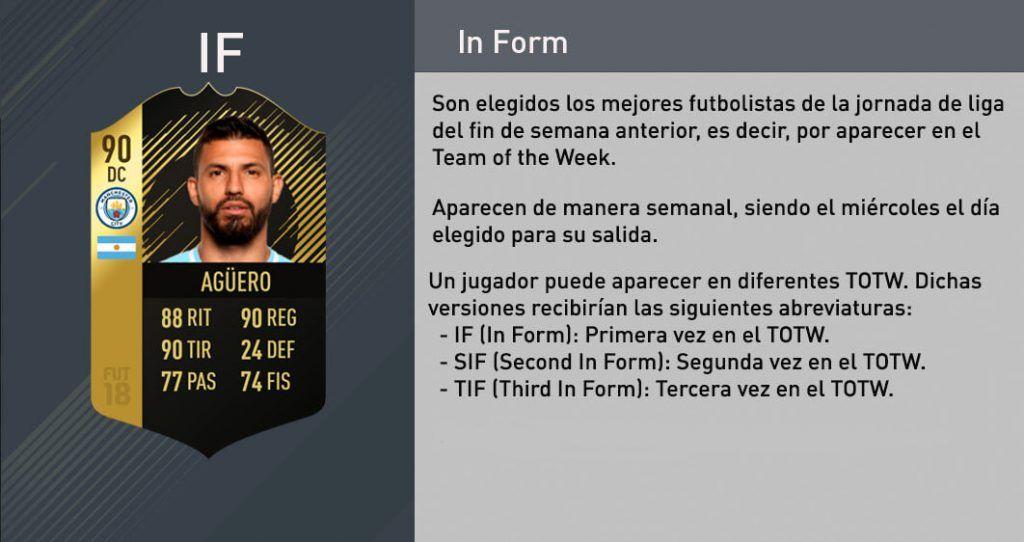 Tipos de cartas de FIFA 18 Ultimate Team