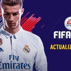 Información de la segunda actualización de FIFA 18