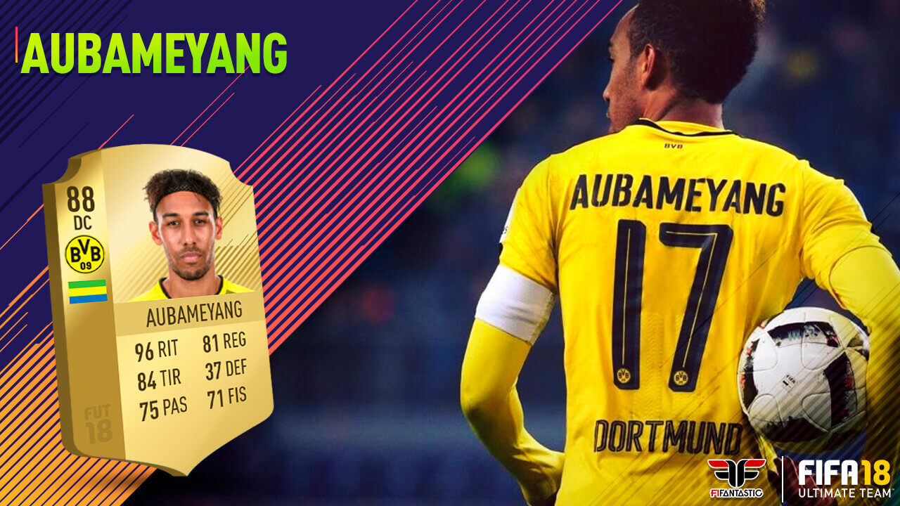 Fifa 18 Aubameyang
