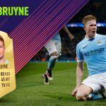 FIFA 18 Ultimate Team. Análisis de Kevin De Bruyne