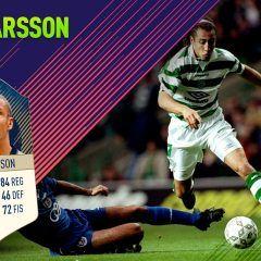 FIFA 18 Ultimate Team. Análisis de Henrik Larsson (86)