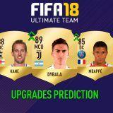 FIFA 18 Ultimate Team. Predicción de los Upgrades