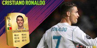 FIFA 18 Ultimate Team. Análisis de Cristiano Ronaldo