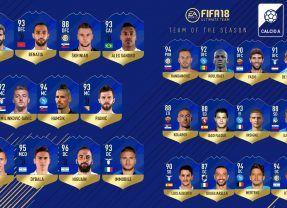 FUT 18. Predicción de los TOTS del Calcio A