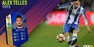 FIFA 18 Ultimate Team. Análisis de Alex Telles TOTS