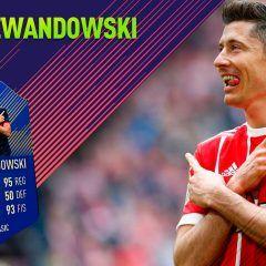 FIFA 18 Ultimate Team. Análisis de Lewandowski TOTS