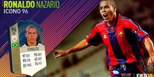 FIFA 18 Ultimate Team. Análisis de Ronaldo Nazario (96)