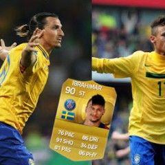 Equipazo híbrido con Ibrahimovic y Neymar