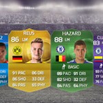 Funny Team 15. Reus – Hazard – Alexis Sánchez