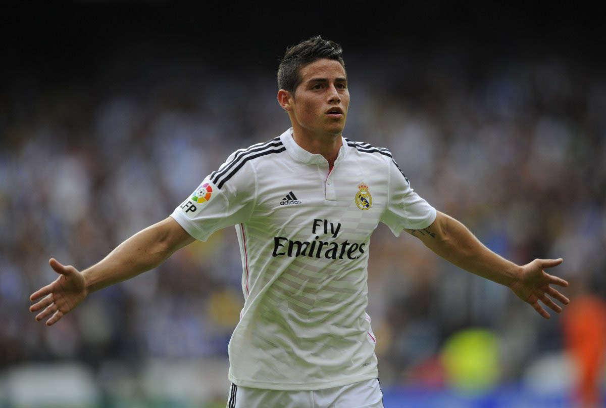 James Rodriguez Wallpaper Real Madrid Hd Download Fifantastic