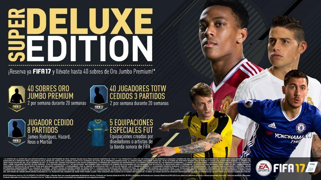 Super Deluxe Edition FIFA 17