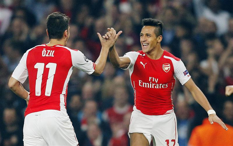 Özil y Alexis Sánchez