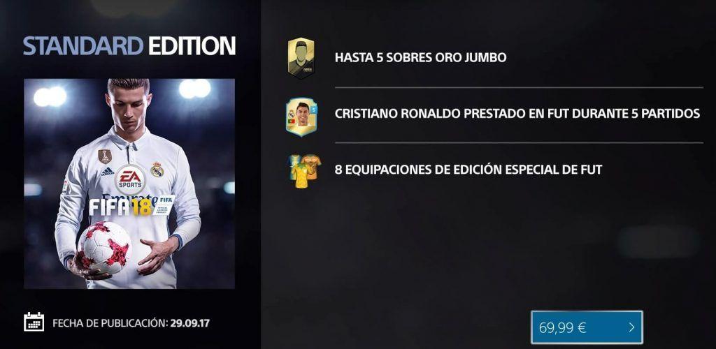 Standard Edition FIFA 18