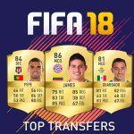 Análisis de los mejores Transfers de cara a FIFA 18 (1ª parte)