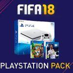 Ya hay a la venta un Pack de PlayStation 4 y FIFA 18