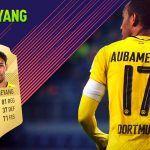 FIFA 18 Ultimate Team. Análisis de Aubameyang