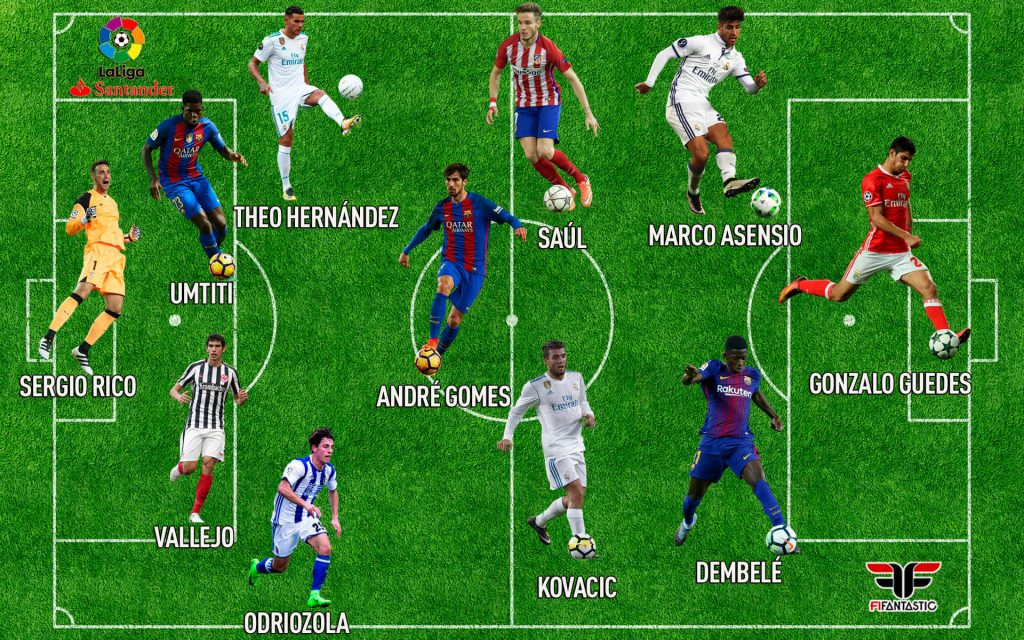 Equipo de Jóvenes Promesas de la Liga Santander para FIFA 18