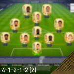 FIFA 18. Vídeo análisis de la formación 4-1-2-1-2 (2)