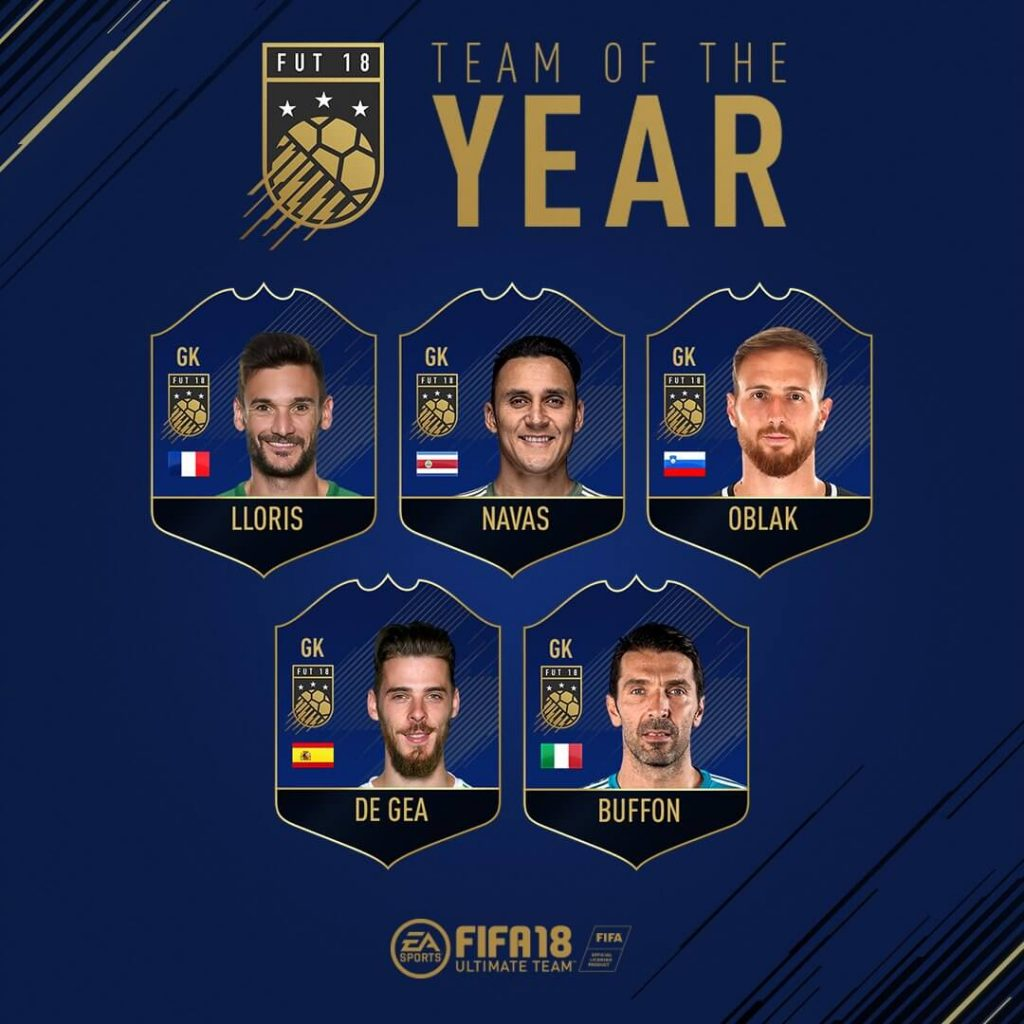 Candidatos TOTY de FIFA 18 Ultimate Team