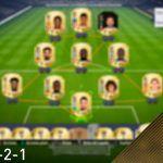 FIFA 18. Vídeo análisis de la formación 4-3-2-1